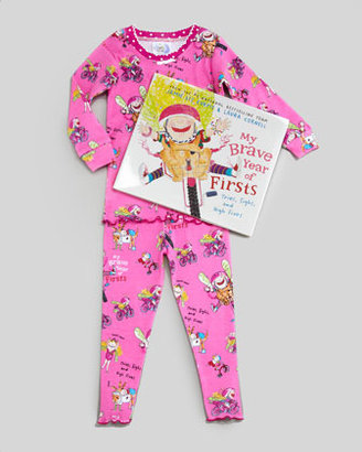 Books To Bed My Brave Year of Firsts Pajamas and Book Set, 2T-3T