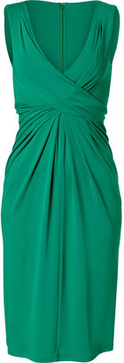 Michael Kors Emerald Twisted Front Dress