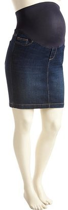 "Old Navy Maternity Smooth-Panel Denim Skirts (16"")"