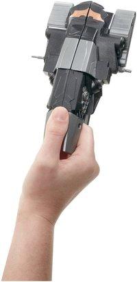 Batman The Dark Knight Rises QuickTek Snow Mobile to Gunship Figure and Vehicle