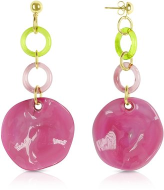 Antica Murrina Syria - Glass Drop Earrings $59 thestylecure.com
