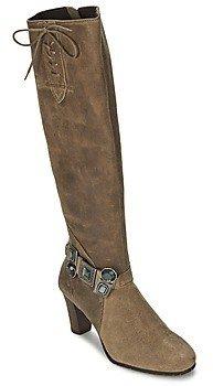 Regard RIAMA women's High Boots in Brown