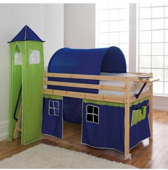 Kidspace Galaxy Bed Frame + Play Tent, Tower And Tunnel