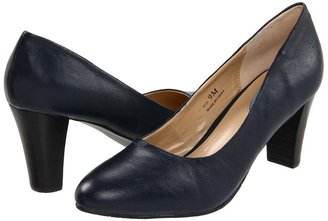 Fitzwell Mary Pump (Navy Kid) - Footwear