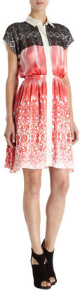 ICB Printed Lace Dress