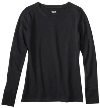 Mossimo Junior's Long Sleeve Crew Tee - Assorted Colors