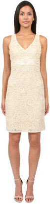 Sue Wong - N1133 Sleeveless Dress In Vanilla $511 thestylecure.com