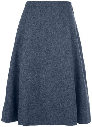 Marc by Marc Jacobs Pleated A-line Skirt