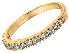 Lord & Taylor Diamond Ring in 14 Kt. Yellow Gold