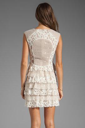 BCBGMAXAZRIA Ruffle Dress