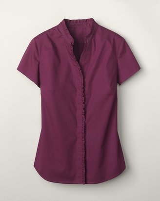 Coldwater Creek Subtle ruffle top