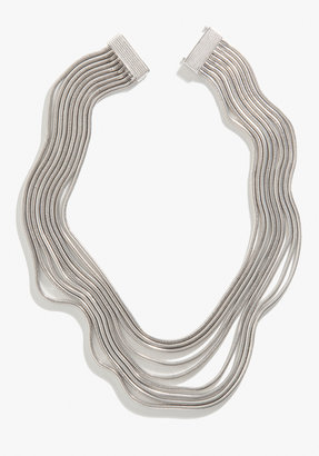 Bebe Multi Strand Coil Necklace