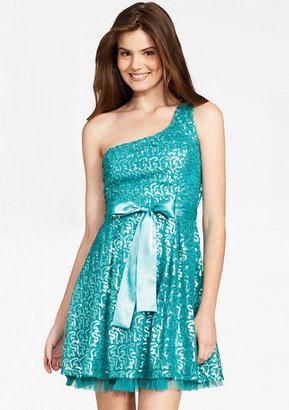 Delia's Swirly Sequin Dress