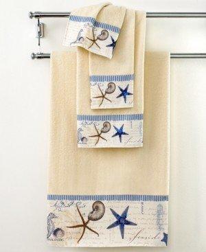 "Avanti Bath Towels, Antigua 25"" x 50"" Bath Towel Bedding"