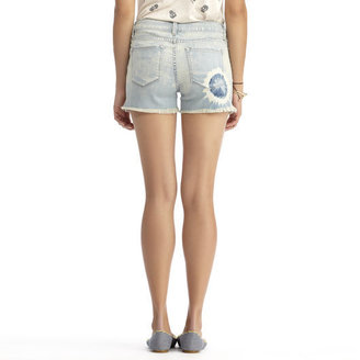 Rachel Roy Rachel Tie Dye Cut Off Denim Short