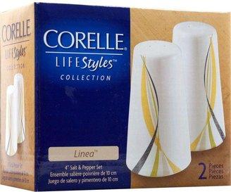 Corelle LifeStyles Collection Linea Salt and Pepper Set