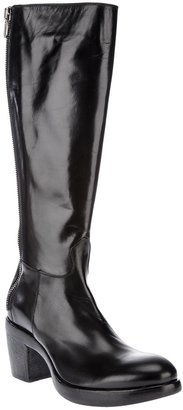 Rocco P. zip up leather boots