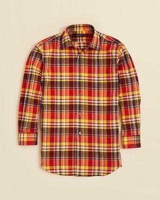 John Varvatos Boys' Plaid Sport Shirt - Sizes 8-20
