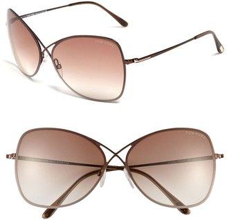 Tom Ford Colette 63mm Oversized Sunglasses