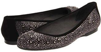 Stuart Weitzman Nubeads (Black Suede) - Footwear