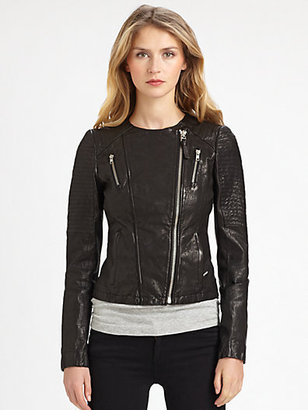 Mackage Brooklyn Leather Jacket
