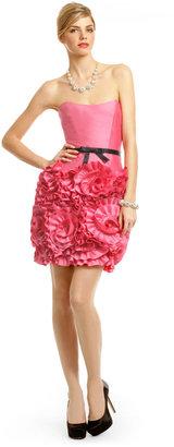 Milly Pink Almond Rosette Dress