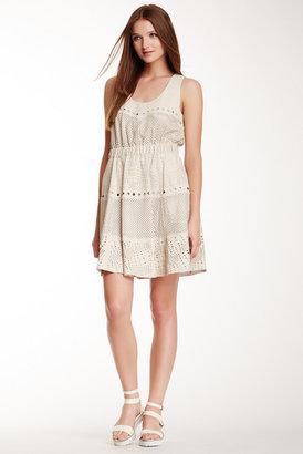 Catherine Malandrino Elyana Sleeveless Leather Dress