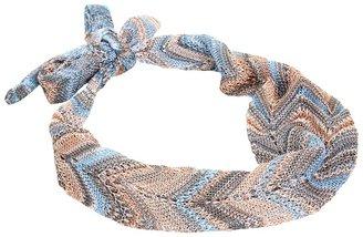 Missoni Salvatrice Headband (Blue/Beige) - Accessories