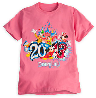 Disney Sorcerer Mickey Mouse Tee for Adults - Disneyland 2013