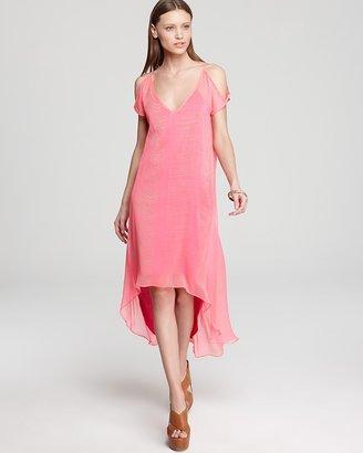 Kas Quotation Dress - Posh High Low