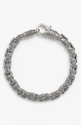 Men's Konstantino 'Classics' Carved Bracelet $450 thestylecure.com