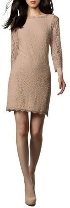 Diane von Furstenberg Zarita Lace V-Back Dress $348 thestylecure.com