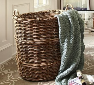 Pottery Barn Chelsea Giant Oval Basket
