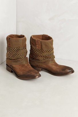 Anthropologie Chainmail Boots
