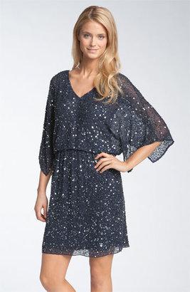 Pisarro Nights Beaded Kimono Sleeve Dress