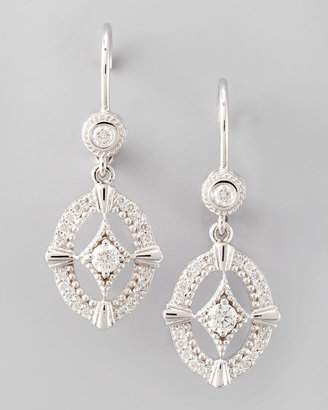 Penny Preville Oval New Classic Diamond Earrings