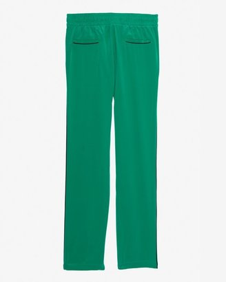 Intermix Exclusive For Contrast Piping Silk Pants