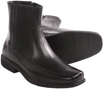 Rockport Treyson Side Zip Boots - Leather (For Men)