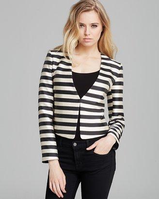 Dolce Vita Blazer - Macyn Silk Stripe