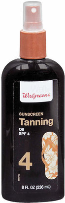 Walgreens Dark Tanning Oil Sunscreen