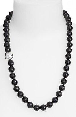 Women's Simon Sebbag Stone Beaded Necklace $125 thestylecure.com