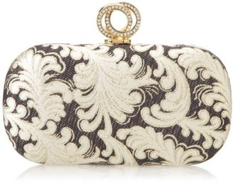 La Regale Damask Special Occassion Clutch