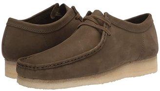 Clarks Wallabee (Dark Olive Nubuck) Men's Shoes