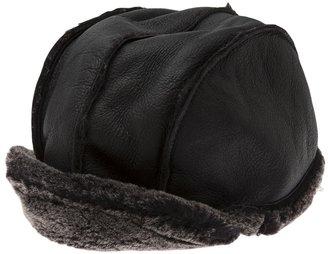 Paul Smith shearling baseball hat
