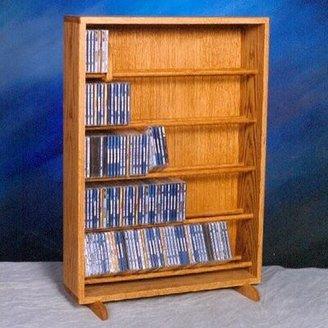 Christian Dior Wood Shed 500 Series 275 Dowel Multimedia Storage Rack Wood Shed