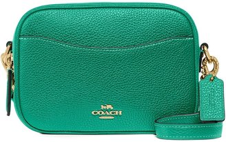 Coach Green Small Leather Cross-body Bag
