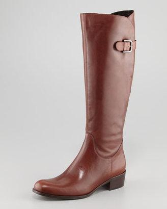 Sesto Meucci Adjustable-Calf Flat Boot