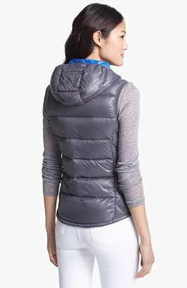 London Fog Hooded Packable Down Vest (Online Only)