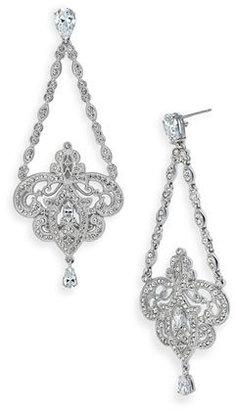 Nadri Triangle Chain Chandelier Earrings (Nordstrom Exclusive)