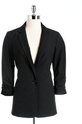 MICHAEL Michael Kors Plus Plus One-Button Blazer